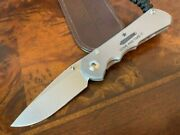 Chris Reeve Knives Small Inkosi Drop Point S35vn Come And Take It Sin-1106
