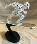 Silver Surfer Bowen 1/6 Scale Statue Professionally Custom Chromed Not Sideshow