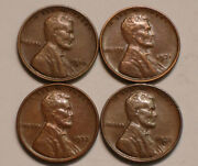 1930 D 1931 P 1932 P And 1932 D Lincoln Cents