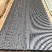 Charcoal Grey Grooved Topped Composite Decking | 115 Boards | 46 Square Metres