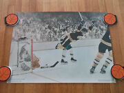 Bobby Orr Si Action Sports Poster Nhl Hockey Bruins 1970
