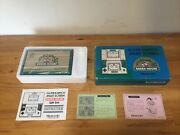 Vintage Nintendo Game And Watch Greenhouse Gh-54 1982 Beautiful Condition - Boxed