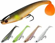 Truscend Fishing Lures For Bass, Soft Swimbaits