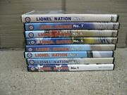 Lot 8 Lionel Nation Dvds 1 2 3 4 5 6 7 8 Nice Cnd 3 Are New + Sealed Fast Ship