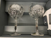 Waterford Crystal Millennium Collection Love Toasting Goblets Nib