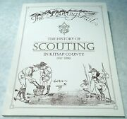 History Of Scouting In Kitsap County Book -1990- Olympic Area C Mox Kar-po 530