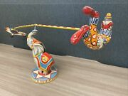 Flying Circus Wind-up Toy, By Unique Art Mfg. Co., Good Condition, Made In Usa