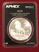 2019 Disney Lion King Niue Silver Ounce. Mint Direct Tep. 25 Year Anniversary Oz