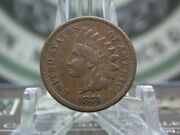 1874 Indian Cent Penny 1c 5  East Coast Coin And Collectables, Inc.