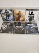 Call Of Duty Ps3 Bundle Lot Modern Warfare 2 Ghosts Black Ops 1 And 2 And More