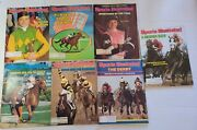 Sports Illustrated Vintage Magazine Lot Horse Racing 7 Issues, Steve Cauthen