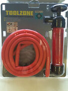 Syphon Pump Siphon And T Handle For Water Oil Fluid Liquid - Boats / Cars Tool