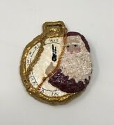 Enesco Belsnickle Father Time Pocket Watch 1999 Ornament Linda Baldwin Limited