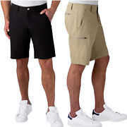 New Weatherproof Menand039s The Trail Shorts Packable Hybrid Quick Dry Shorts 189