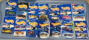 Lot Of 14 Assorted Hot Wheels On Card Blister Pack Some Hard To Find Limited Edn