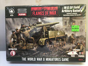 Flames Of War 15mm Wwii Us M12 Sp Field Artillery Battery Resin And Metal