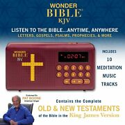 Wonder Bible Kjv- The Talking Audio Bible Player New And Old Testament