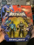 Batman The Brave And The Bold Blue Beetle Vs Kanjar Ro Action Figure 2-pack