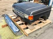 87-91 Ford F250 Bronco Used Hood Bumper Fenders Grille Lights Front Clip