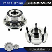 2pc Front Wheel Hub Bearing Assembly For 2014 2015 2016 2017-2019 Chevy Corvette