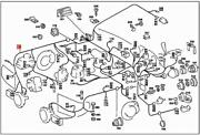 Genuine Mercedes Sl R107 Cable Harness A1075400706