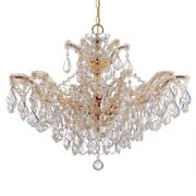 Crystorama Lighting 4439-gd-cl-s Maria Theresa - Six Light Chandelier In