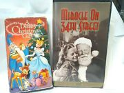 A Disney Christmas Gift Disneys And Miracle On 34th Street Vhs Video Movies