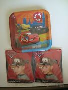 Disney Pixar Cars Party Supplies Plates And 8 Party Hats