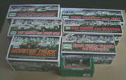 Hess Toy Truck Lot Tractor Jet Motorcycles Helicopter 7 Different Nos