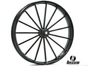 26 X 3.75 Talon Wheel And 120/55-26 Front Tire - Black - 2000-2020 Harley Touring