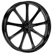 21 X 3.5andrdquo Front Ion Black Front Wheel Rotors Tire - Harley Touring Bagger