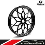 23 X 3.75 Rep-04 Prodigy Wheel And Tire Package Black - Harley Touring 2000-2020