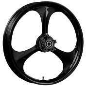 Ryd Wheels 23 X 3.75andrdquo Amp Blackline Front And Rear Wheels - 2000-up Harley Touring