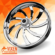 26 X 3.75 Sly Wheel And Front Tire - Chrome - 2000-2020 Harley Touring 26-253c-t