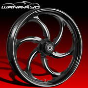 Ryd Wheels Reactor Starkline 23 Front And Rear Wheels Only 00-07 Bagger