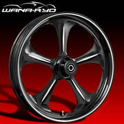 Ryd Wheels Adrenaline Starkline 18 Fat Front And Rear Wheels Only 00-07 Bagger
