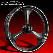Ryd Wheels Amp Starkline 23 Fat Front And Rear Wheels Only 00-07 Bagger