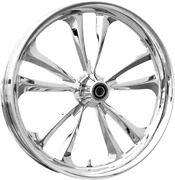 Misc Renegade Chrome Front 21 X 3.5 Wheel For Harley Touring Cc-ren-ch2135fwti