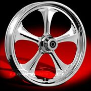 Wanaryd Adrenaline Chrome 26 X 4.00 Front Wheel 08-13 Harley Touring Bagger