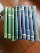 My Book House 1951 Lot Of 9 Books Colorful Childrens Volumes 4 - 12 Vintage