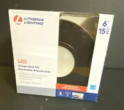 Lithonia Lighting 6 Oil Rubbed Bronze Integrated Led Recessed Light Kit
