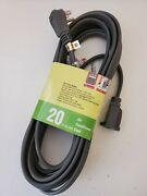 Heavy Duty Air Conditioner And Major Appliance Extension Cord Wire 20 Ft 14 Awg