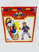 Factory Sealed New Vintage Disneyandrsquos Donald Duck 48 Punching Bop Bag By Intex