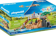 Playmobil Family Fun - Outdoor Lion Enclosure 70343 For Kids 4 Years Old And Up