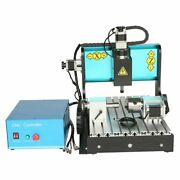 Asg 110v 600w 4 Axis 3040 Cnc Router Engraving Drilling Milling Machine Usb Port