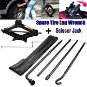 Repair Spare Tire Lug Wrench Extension Tool Scissor Jack For Ford 2004-2014 F150