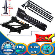 Lug Wrench Tool Replacement Set +2 Ton Scissor Jack For 2002-2015 Dodge Ram 1500