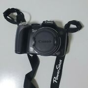 Canon Powershot Sx10 Is 10.0mp Digital Camera - Pc1304 Black For Parts Or Repair