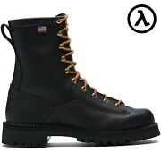 Danner® Rain Forest Brown 8 Waterproof Work Boots 14100 - All Sizes - New
