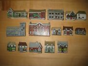 Wade Buildings Whimsey On Why Numbers 1-15  Set 1, And 9-15 Of Set 2